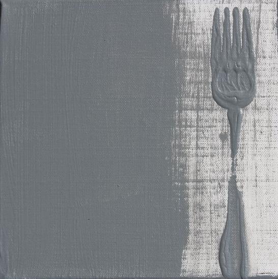 GREY  fork